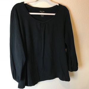 Black Blouse by White Stage!